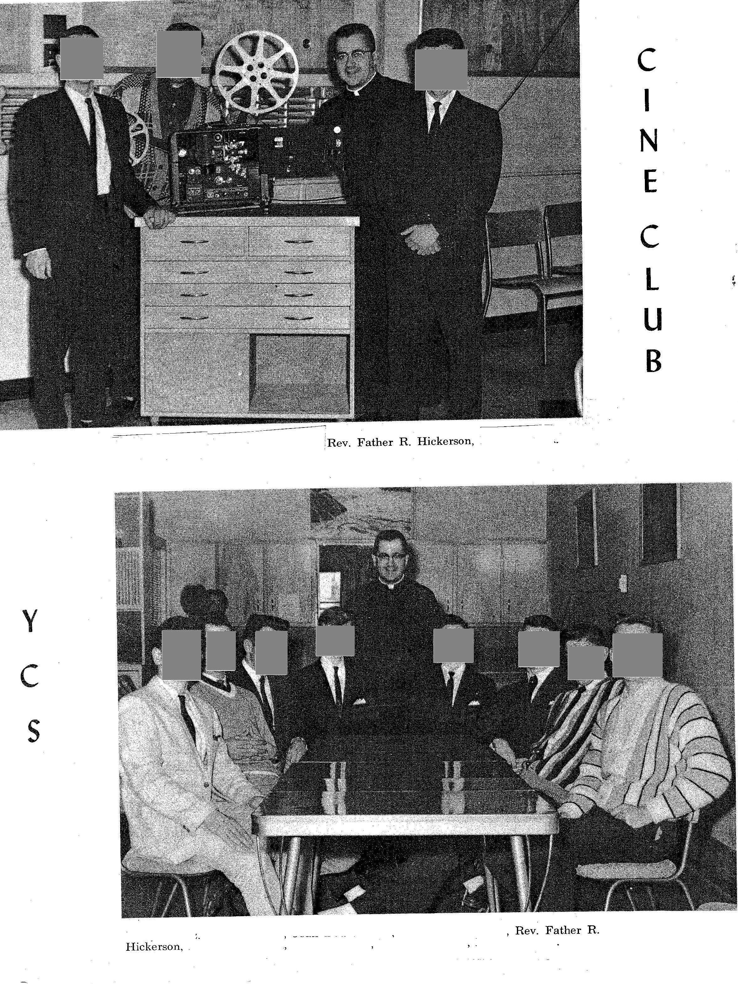 Hickerson 1961-63 at Provencher HS Saint Boniface Cine Club JPEG  Redacted
